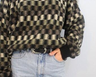 Black Grandpa Sweater
