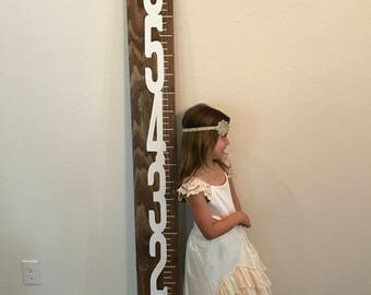 Rustic Height Chart