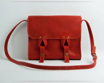 Satchel bag mini red (W020.7)