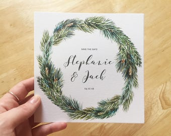 Save the Date - The Wreath Range