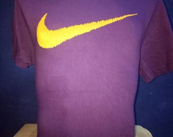 Vintage Nike T-shirt Big Logo size L