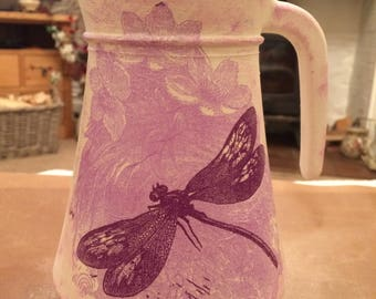 Hand Decorated Water Jug