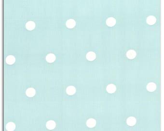 Cotton blue polka dot white LKC40 coupon