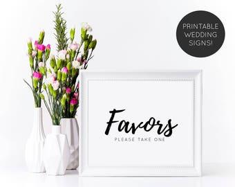 Favors Sign, Party Favor Sign, Wedding Favor Sign, Wedding Reception Sign, Wedding Sign, Printable Wedding Sign,Wedding Print, Wedding Decor