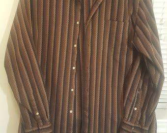 Vintage Milano Italia Berto Lucci Dress Shirt
