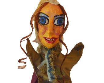 Thisbe Hand Puppet - Midsummer Night's Dream - Play within a Play