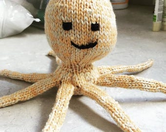 Hand Knit Stuffed Animals