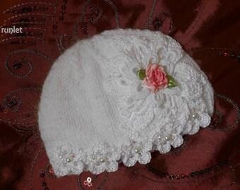 cap Baby flower
