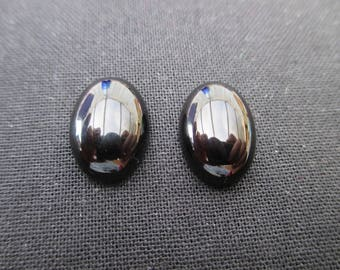 Cabochon onyx 14 mm * 10 mm - sold individually