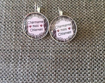 """charming but boring"" earrings"