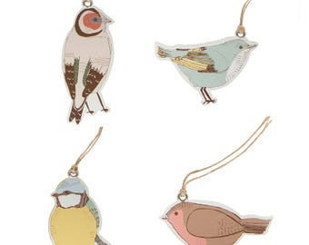 Tags, birds, SET OF birds gift tags, gift