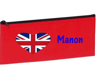 Red England customized with name package