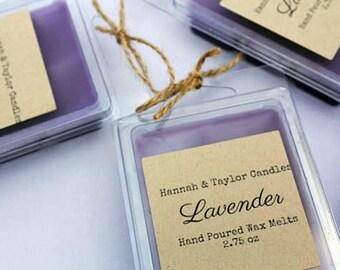 Lavender Wax Melt | Handmade Wax Tart | Lavender Scented Wax Tart | Gift for Women | Lavender Scented Candle