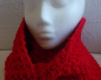 "Collar snood ""Tomato"" Red Hook"