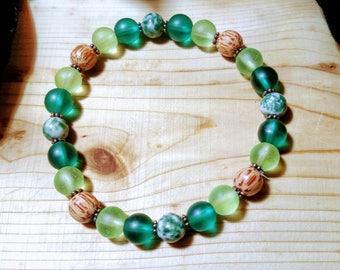 Forest Stretch Bracelet