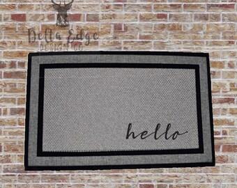 Hello - Doormat