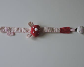 -Pacifier babies (Bunny) fabric flowers