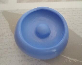 """Mold silicone soft """"big donust blank 2.5 cm"""""""