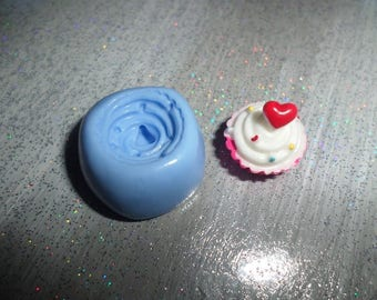 Garnish whipped cream mold for polymer clay 1.5 / 1 cm in the best mold baking