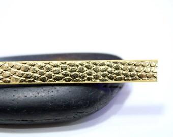 1 m cord effect Christensen flat gold plated 7mm