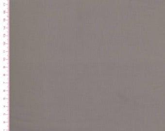 Plain grey 100% cotton fabric