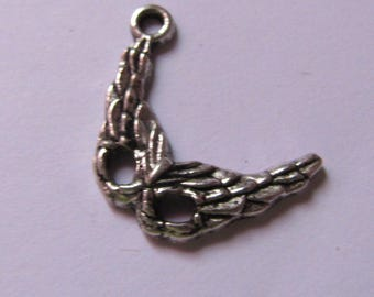 silver pendant mask 22mmx15mm