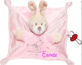 Personalized pink blanket