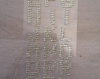 Alphabet stickers stickers