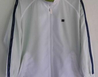 Vintage Wilson Windbreaker Jacket Hip Hop Street Wear Tennis Zip Up