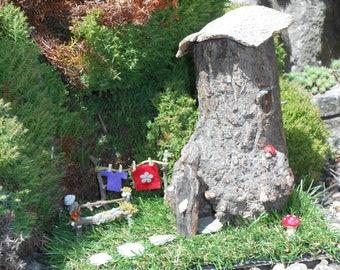 Handmade Fairy House