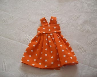 cherished dolls (printed with polka dots) cotton dress
