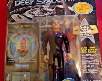 Star Trek Capt. Jean-Luc Picard Action Figure in original package with accessories