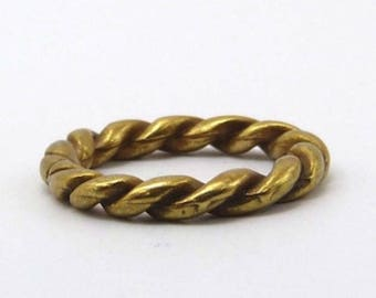 Marine bronze closed ring 25mm