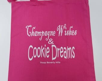 Champagne and Cookies Tote