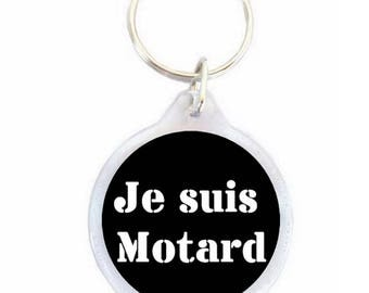 Key chain I am biker - motorcycle