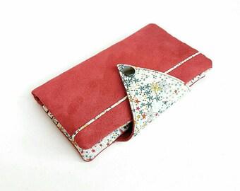 Available - Portfolio companion - liberty multicolored suede rust/copper