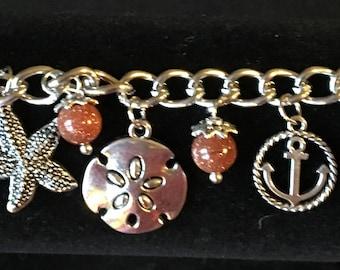 Ocean Themed Charm Bracelet