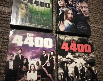 The 4400 DVDs series1-4 great item (no problems) new
