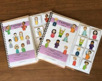 Feelings Adapted Books for Special Education / Autism
