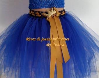 Soft, Royal Blue tulle tutu skirt