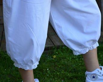 very nice cotton Capri pants model Julia