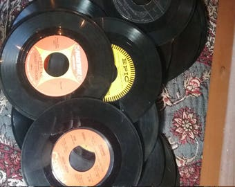 Lot of mystery 45s... 5 available...  10 or more in each lot...