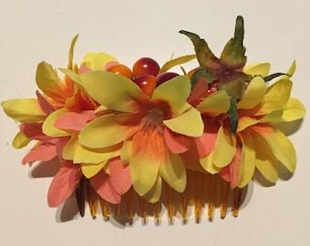 Fall Flowers Comb