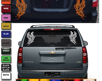Reflective safety sticker for car truck Butterfly sticker decal