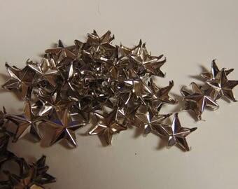 Stars silver setting 10 mm