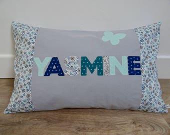 Yasmine personalized pillow