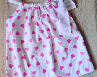 Small heart dress