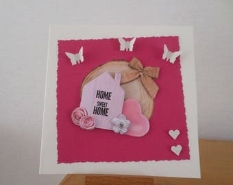 card for any occasion with House and heart