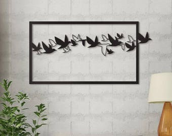 Metal wall decor for bedrooms