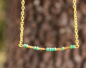 "Morse code ""Friend"" necklace"